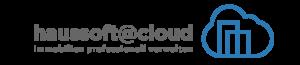 Hausverwaltungssoftware haussoft@cloud Slogan & Icon rechts