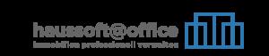 Hausverwaltungssoftware haussoft@office Slogan & Icon rechts